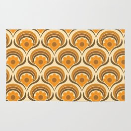 Orange  Daisy Dream Rug