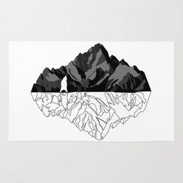 Mountains Bear Rug