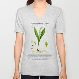 Breaking Bad - Lily of the Valley Unisex V-Neck