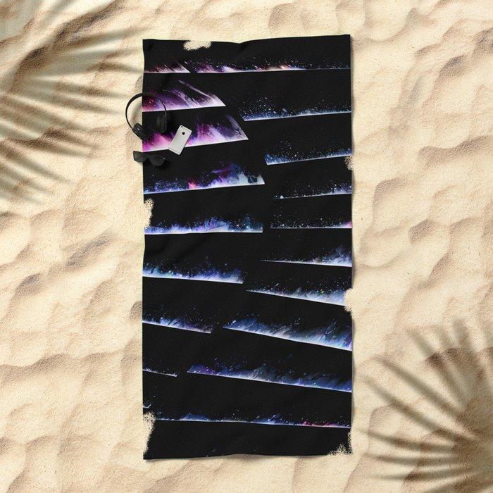 α Crateris Beach Towel