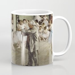 Edgar Degas - The Ballet Class Coffee Mug