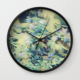 CluesBlues Wall Clock
