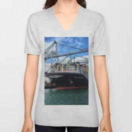 Containers Unisex V-Neck