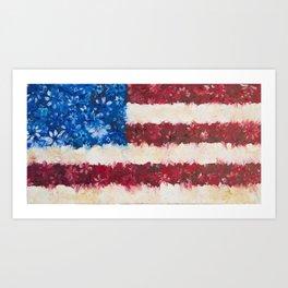 USA Proud Art Print