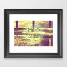 Mind Surf Framed Art Print