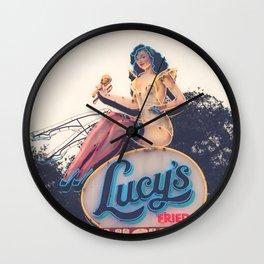 Lucy's Fried Chicken x Austin, Texas Wall Clock