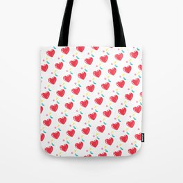 heart hearts Tote Bag
