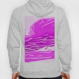 abstract style aurora borealis absdei Hoody