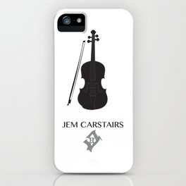 The Infernal Devices Jem iPhone Case