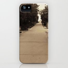 Walk to the beach iPhone Case