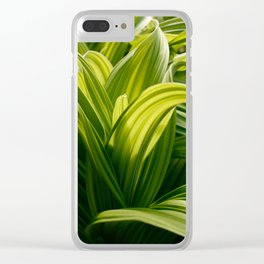 Green Goodness by Mandy Ramsey, Haines, Alaska Clear iPhone Case