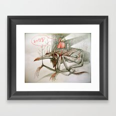 troll Framed Art Print