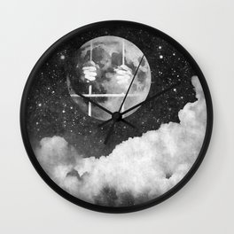 Don't jailed yourself Wall Clock