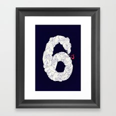 S6 Tee - Many Framed Art Print