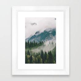 Vancouver Fog Framed Art Print