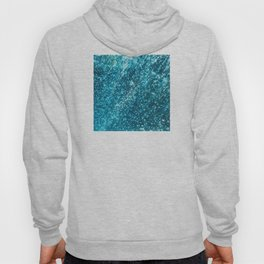 In The Midst of Blue Rain Bubbles Hoody