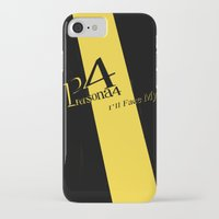 persona 4 iPhone & iPod Cases featuring Persona 4 by BlackHeartedInk