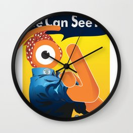 we can see it! Wall Clock