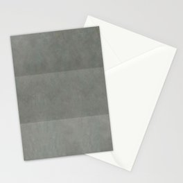 """Spring light grey horizontal lines"" Stationery Cards"
