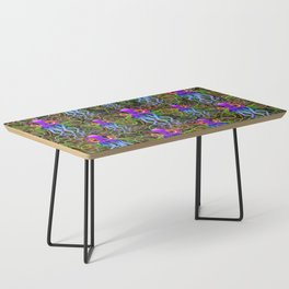 Octopus Psychedelic Luminescence Coffee Table