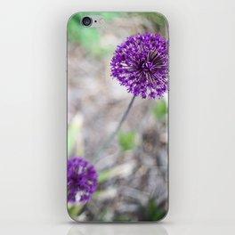 Purple Allium iPhone Skin