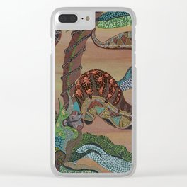"""Serpenti"" by ICA PAVON Clear iPhone Case"