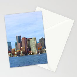 City of Boston Close up Stationery Cards