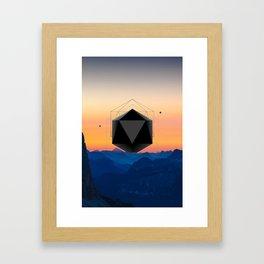 Sunrise Intruder Framed Art Print