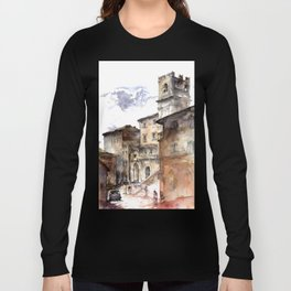 Cortona, Italy Long Sleeve T-shirt