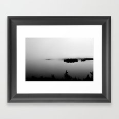 Lake Plimsoll  Framed Art Print
