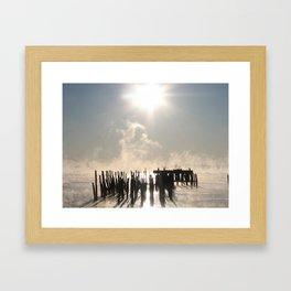 Bay Fog 2 Framed Art Print