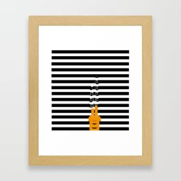 He just wants to play Framed Art Print