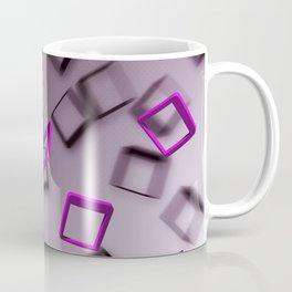 Purple Falling Coffee Mug