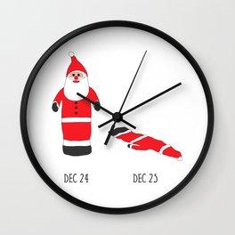 Christmas Aftermath Wall Clock