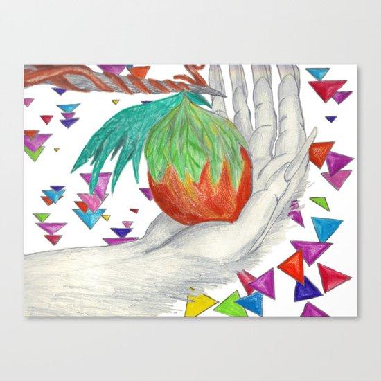Alien Fruit Canvas Print