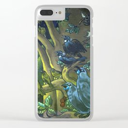 Dawn Chorus in the Primeval New Zealand Wilderness Clear iPhone Case