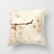 Ethereal Spring Throw Pillow