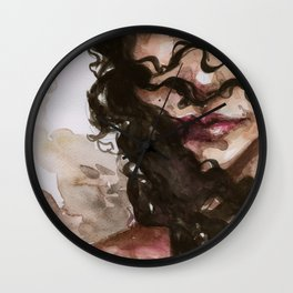 in her crimes Wall Clock