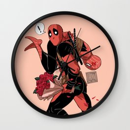 I'll take you away Valentine Wall Clock