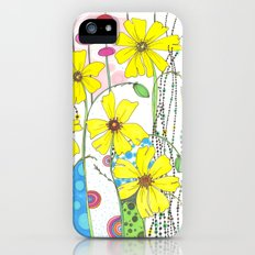 Yellow Flowers iPhone (5, 5s) Slim Case