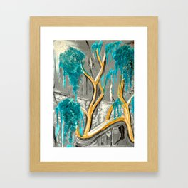 Resting Tree Framed Art Print