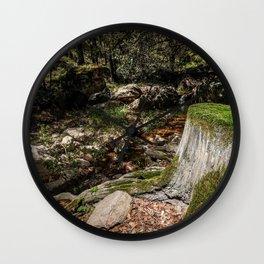 Tree Die Wall Clock