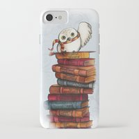 hedwig iPhone & iPod Cases featuring Hedwig by Sam Skyler