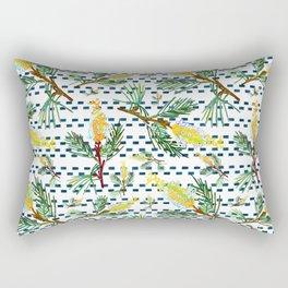 Beautiful Australian Native Grevillea Flower Print Rectangular Pillow