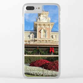 Merriest Place On Earth Clear iPhone Case