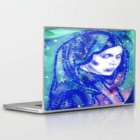 leia Laptop & iPad Skins featuring Princess Leia by grapeloverarts