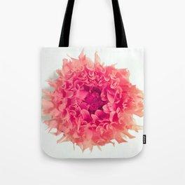 pink dahlia 2 Tote Bag