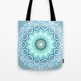 Snow Queen Mandala  Tote Bag