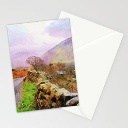 The Road to Hardknott Pass, Lake District,Cumbria,UK Stationery Cards
