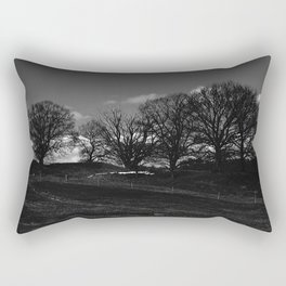 Mørket Kommer (Darkness Comes)  Rectangular Pillow